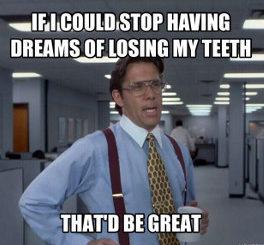 meaning of teeth dreams